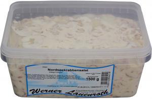 Nordseekrabbensalat in cremiger Mayonnaise 1500g