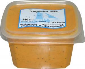 Orangen-Senf Tunke 340g