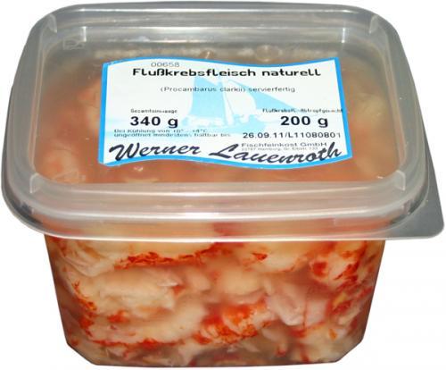 Flu�krebsfleisch naturell 340g