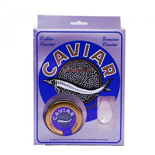 Stör-Caviar 25g Glas mit Löffel